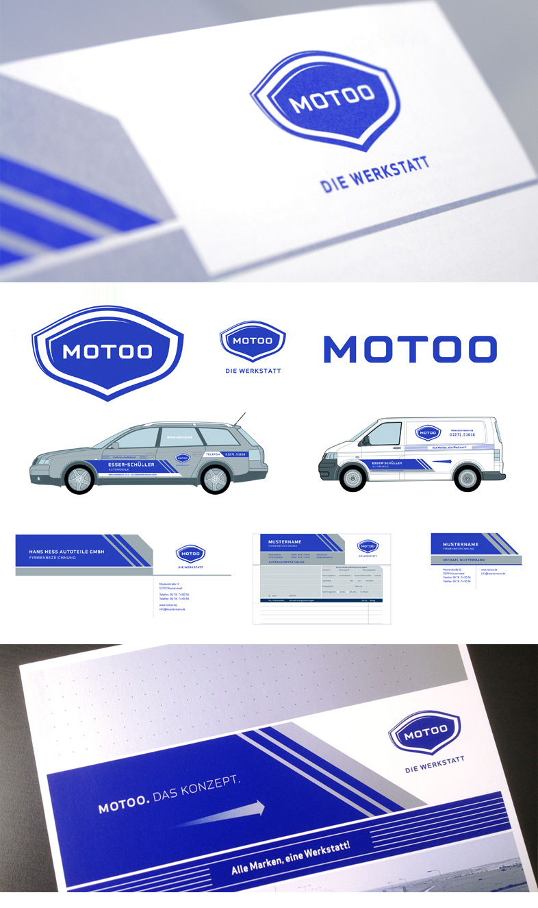 Motoo / Corporate Design / Typedesign