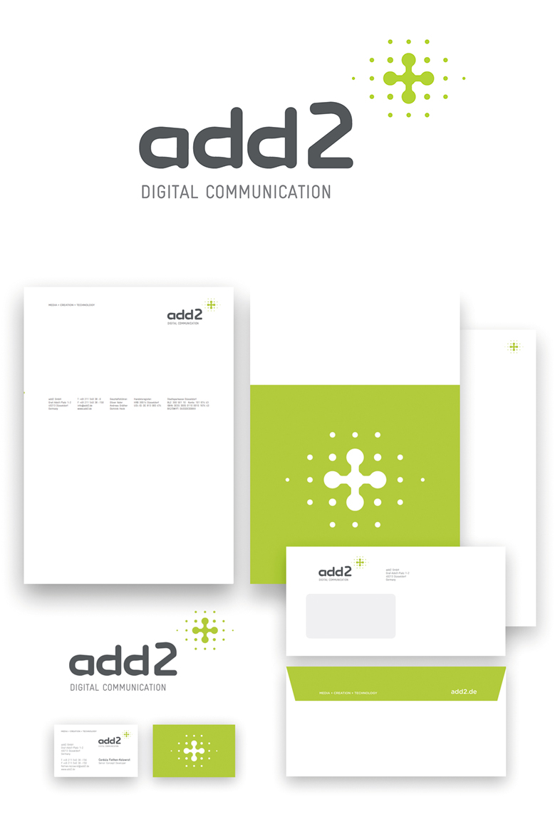 add2 . Corporate Design / Typedesign