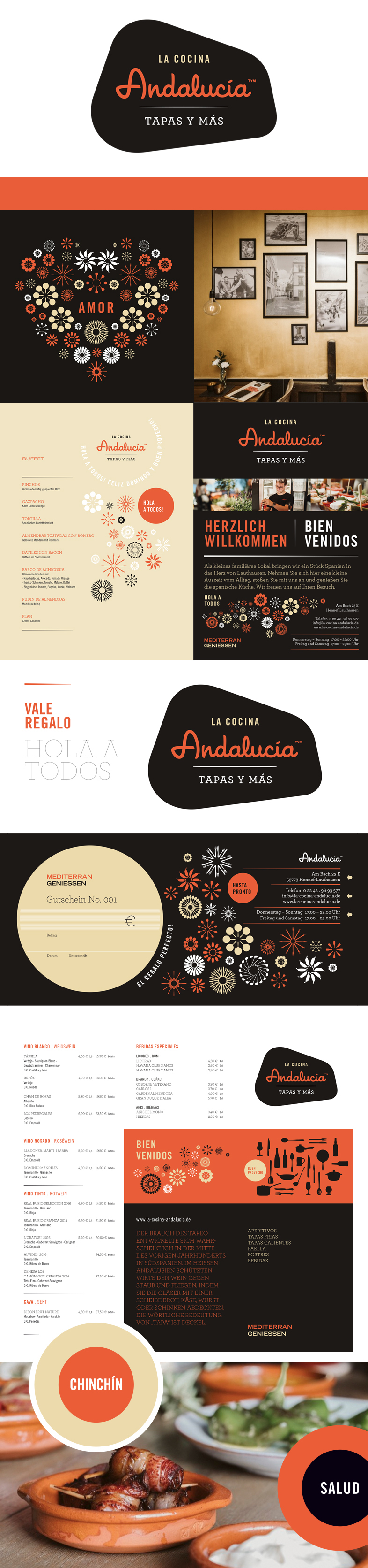 Restaurant Branding / Corporate Design / Typedesign