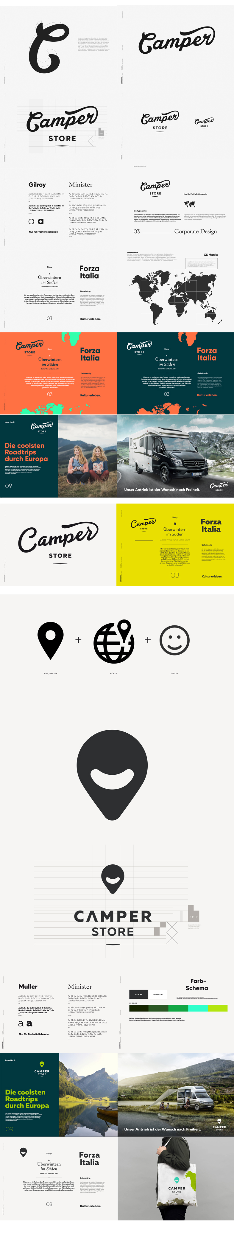 Camper Store – Corporate Design