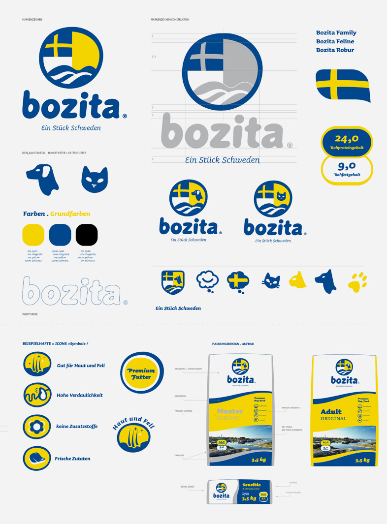 Bozita / Packaging-Konzept / CD / Typedesign